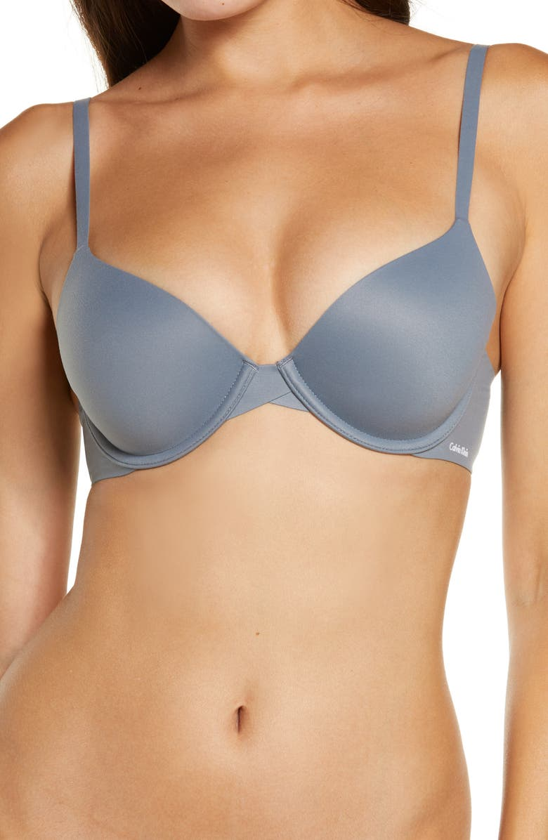 CALVIN KLEIN Perfectly Fit Modern Underwire T-Shirt Bra, Main, color, 065