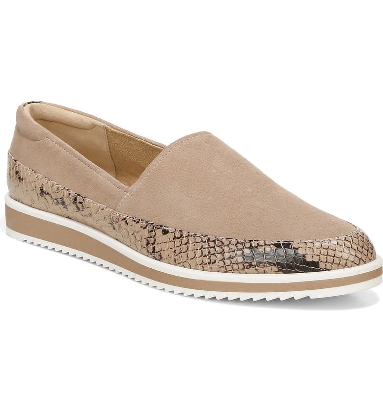 NATURALIZER Beale Flat, Main, color, BARELY NUDE LEATHER