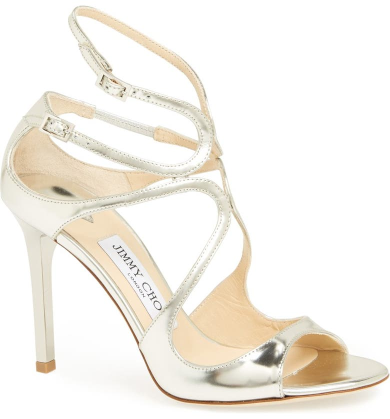 JIMMY CHOO 'Lang' Sandal, Main, color, 040