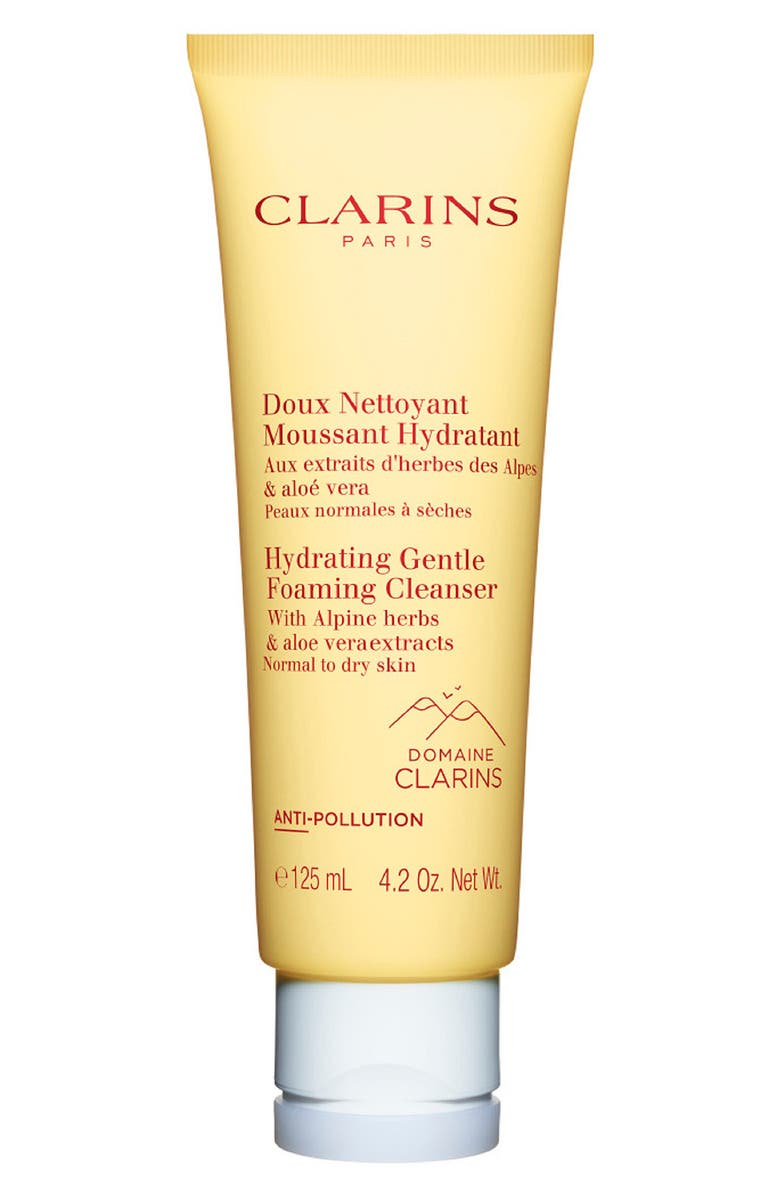 CLARINS Hydrating Gentle Calming Cleanser, Main, color, NO COLOR