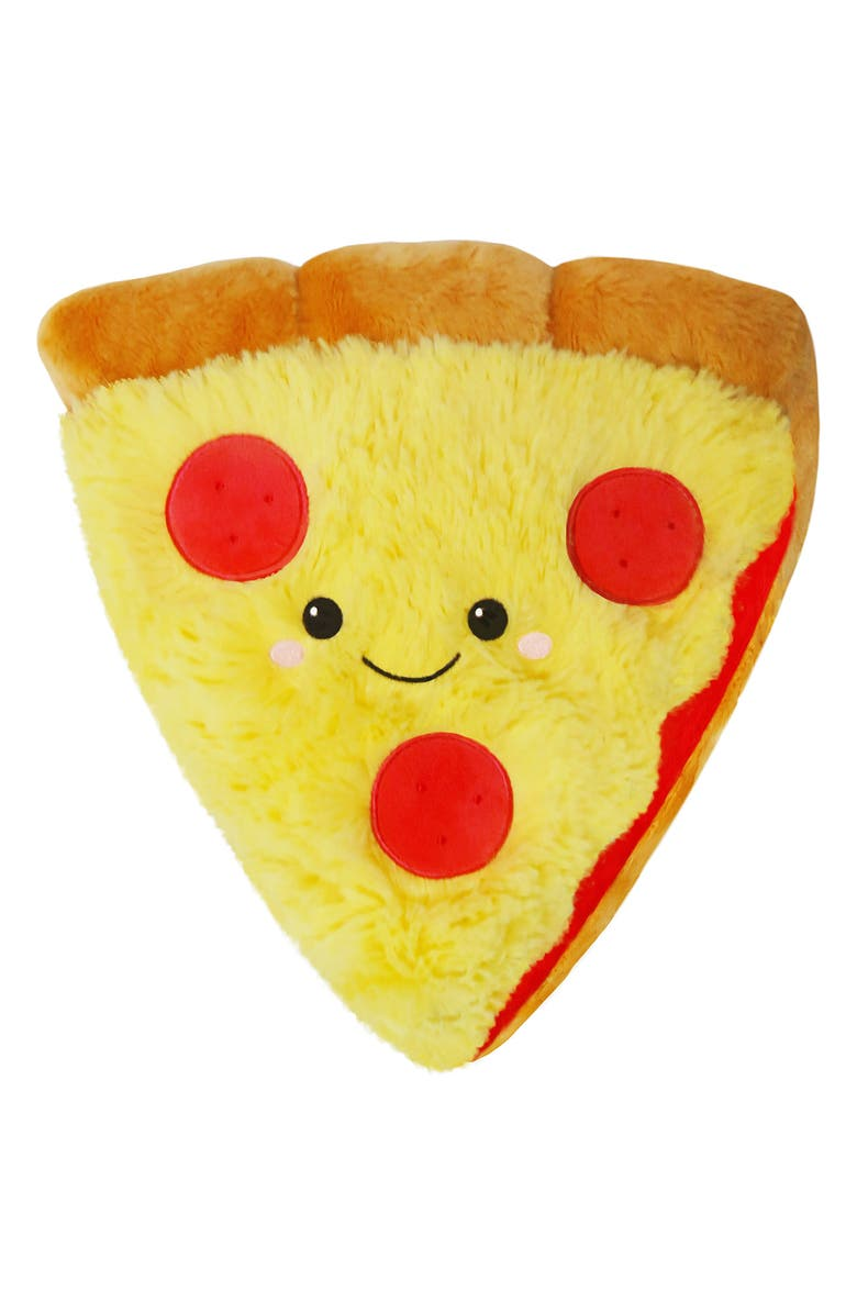 SQUISHABLE Pizza Slice Stuffed Toy, Main, color, 960