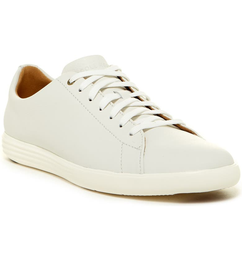 COLE HAAN Grand Crosscourt II Sneaker - Wide Width Available, Main, color, WHITE