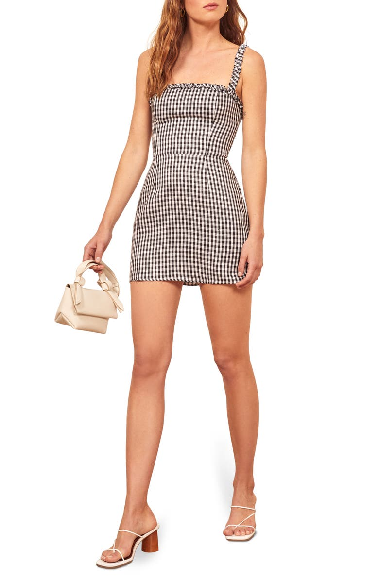 REFORMATION Janie Minidress, Main, color, 001