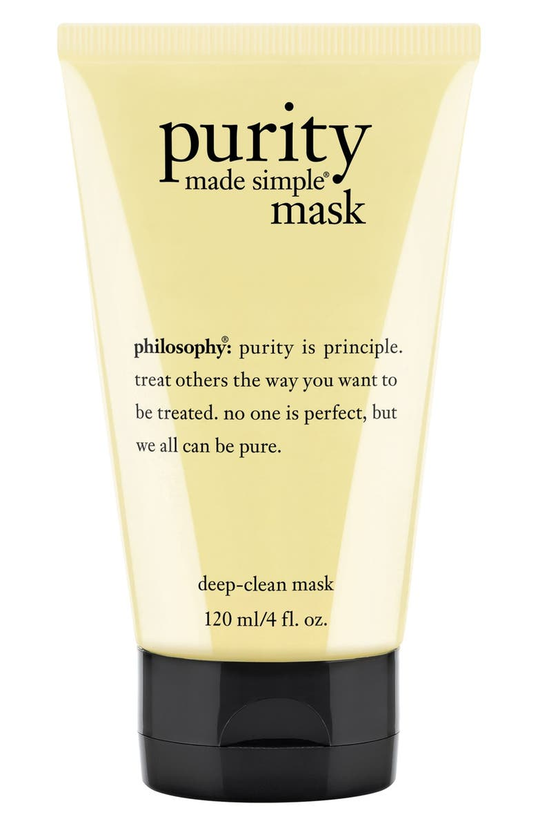 PHILOSOPHY 'purity made simple' deep-clean mask, Main, color, No Color