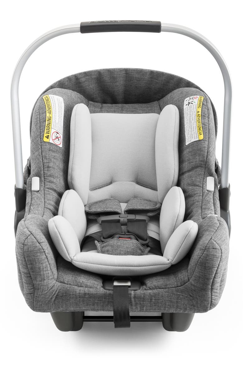 STOKKE PIPA<sup>™</sup> by nuna Car Seat & Base, Main, color, BLACK MELANGE