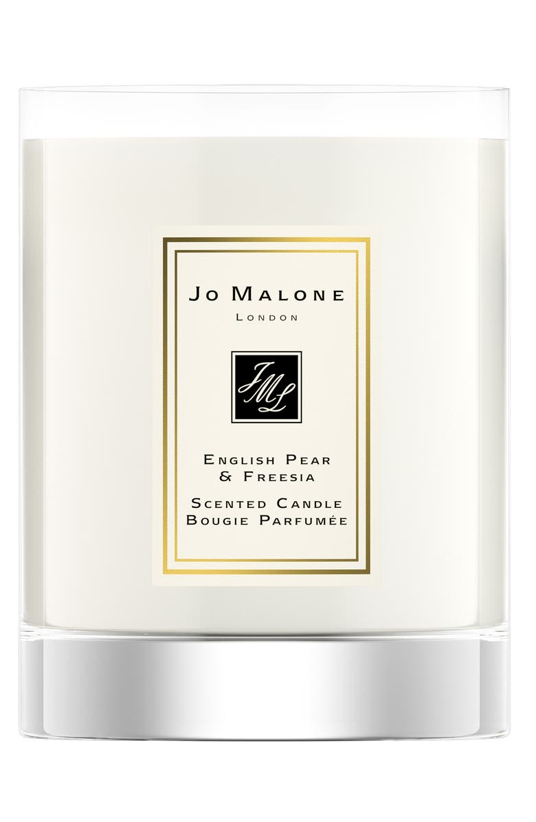 JO MALONE LONDON<SUP>™</SUP> English Pear & Freesia Travel Candle, Main, color, NO COLOR