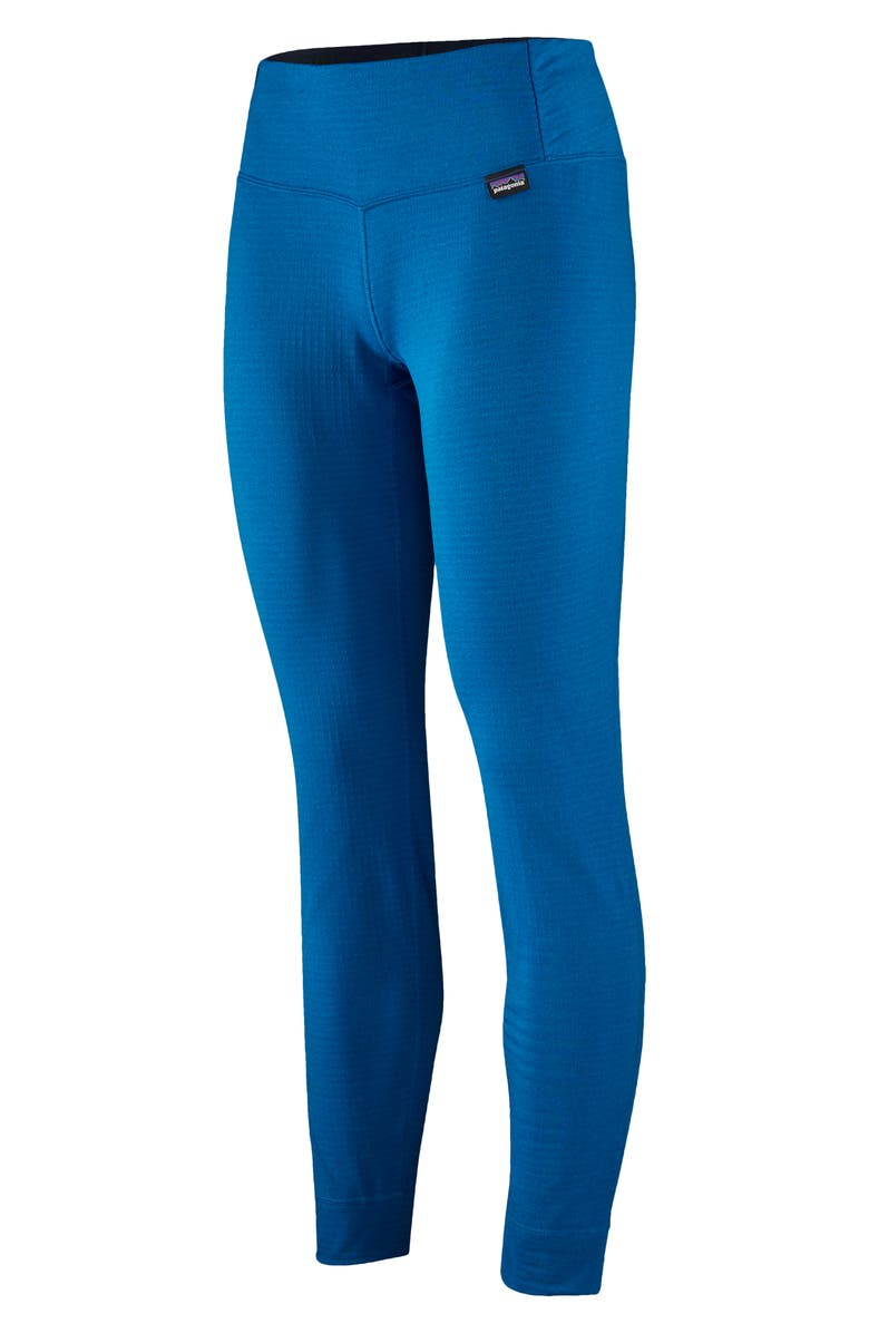 PATAGONIA Capilene<sup>®</sup> Thermal Weight Base Layer Tights, Main, color, ALPINE BLUE-LT ALPINE BL X-DYE