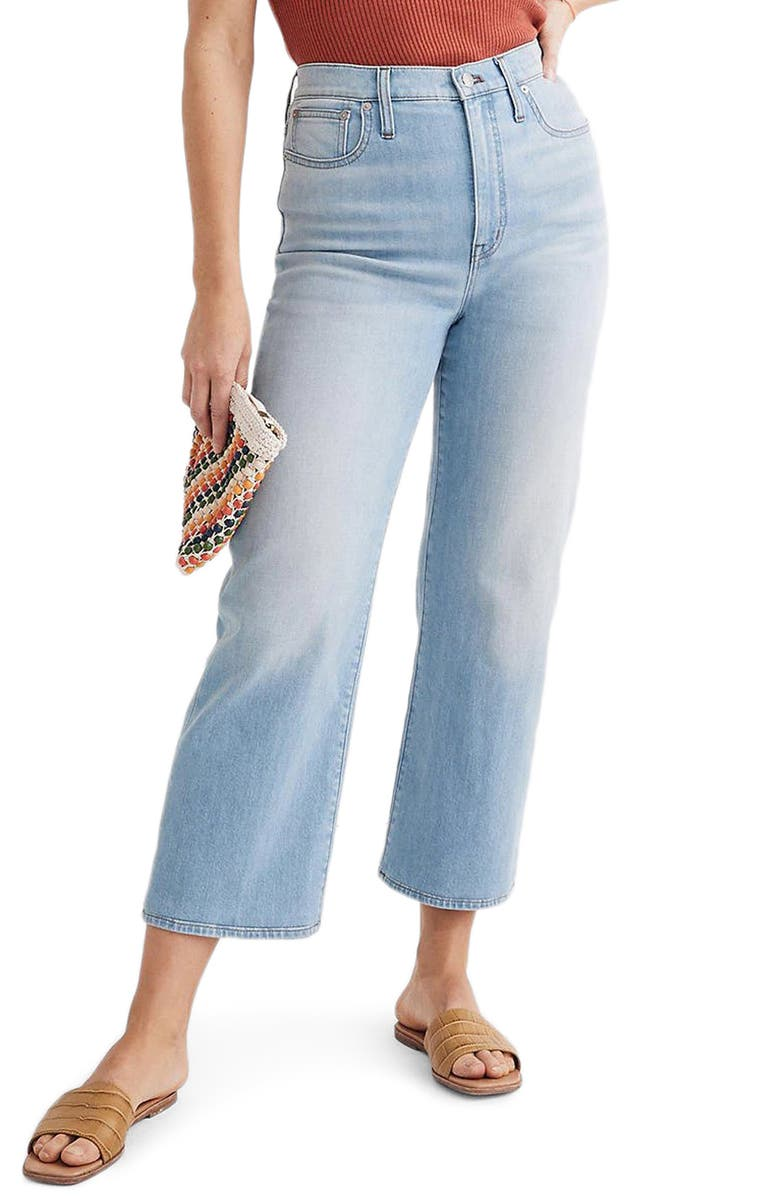 MADEWELL Wide Leg Crop Jeans, Main, color, EASTWICK