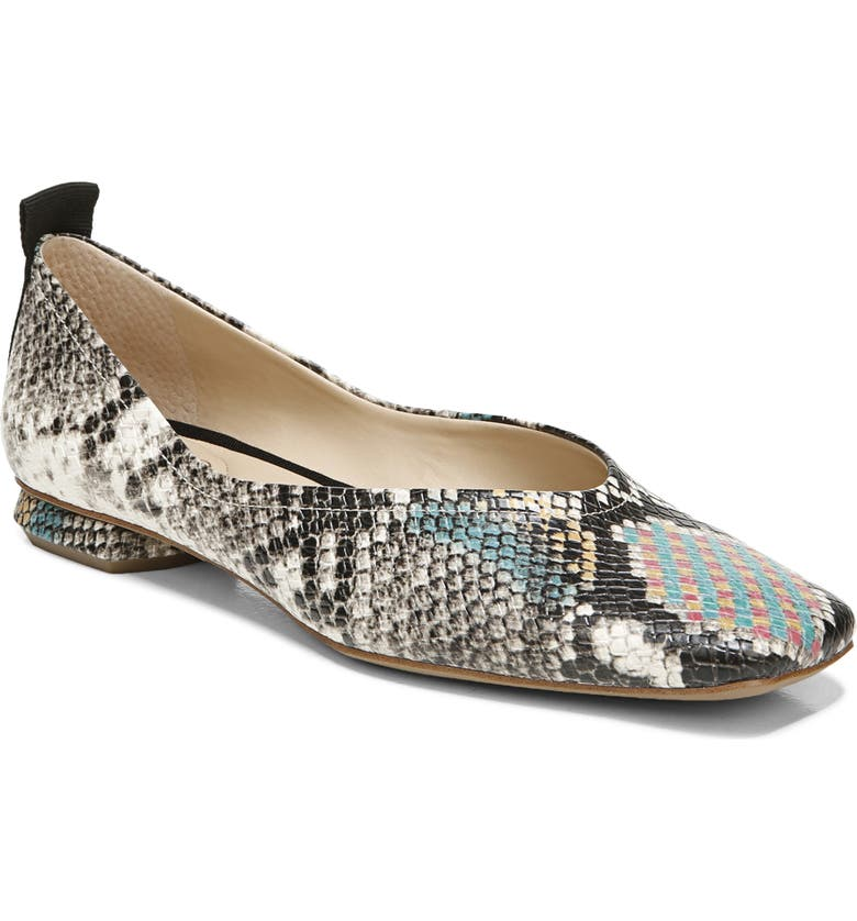 FRANCO SARTO Ailee Flat, Main, color, MULTI SNAKE PRINT
