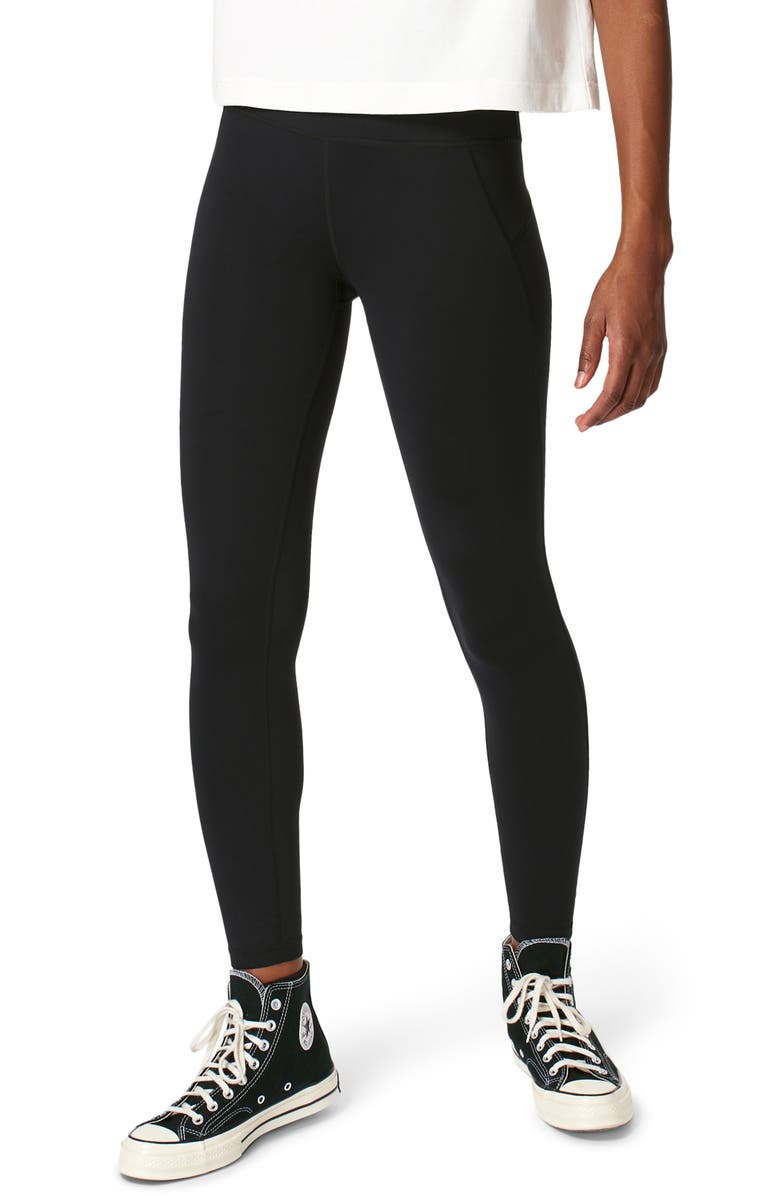 SWEATY BETTY All Day Leggings, Main, color, BLACK