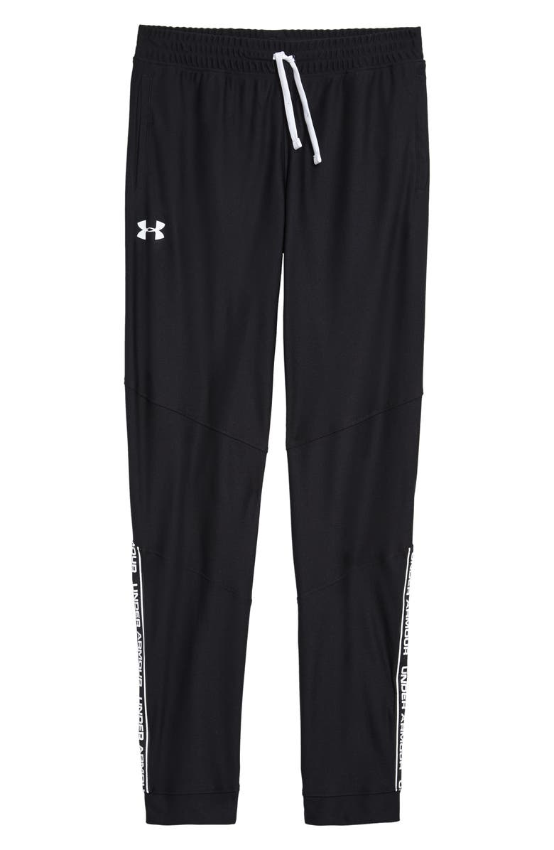UNDER ARMOUR Prototype HeatGear<sup>®</sup> Pants, Main, color, BLACK / WHITE
