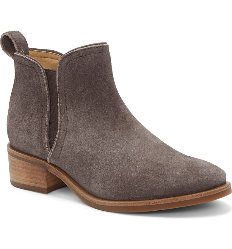 LUCKY BRAND Pogan Chelsea Boot, Main, color, COFFEE SUEDE