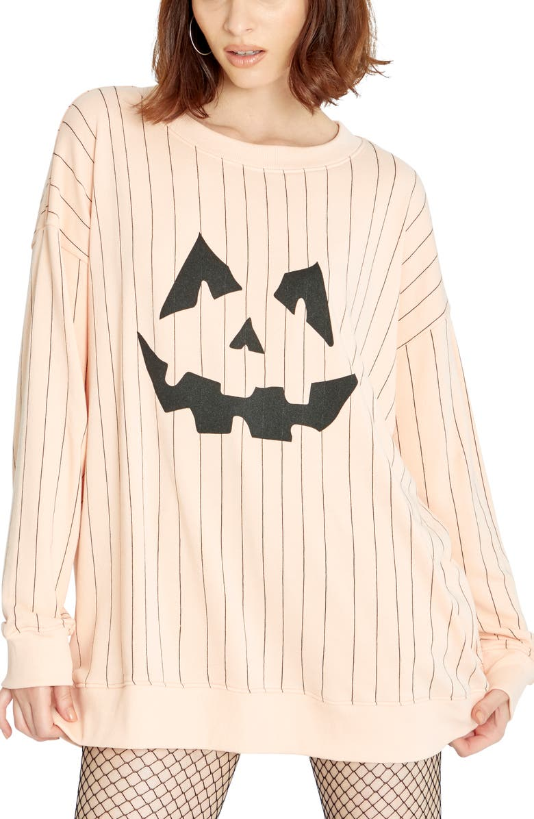 WILDFOX Roadtrip Jackie Graphic Pullover, Main, color, NECTAR