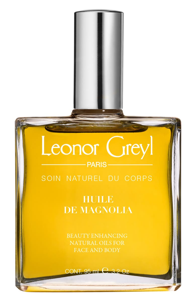 LEONOR GREYL PARIS Huile de Magnolia Beautifying Oil for Face & Body, Main, color, No Color