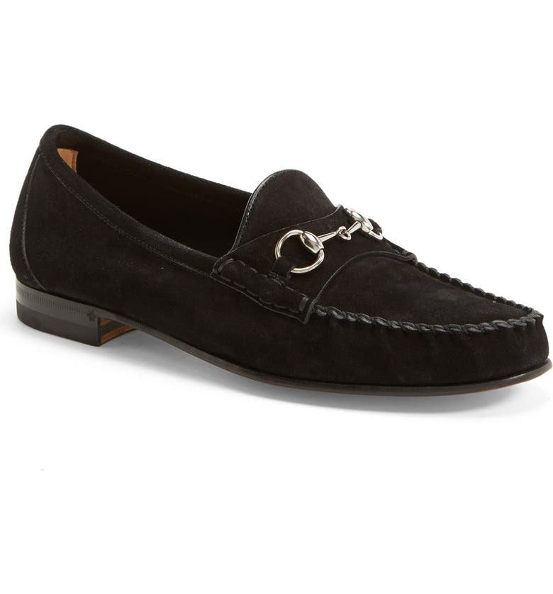 GUCCI 'Frame' Moccasin Loafer, Main, color, 001
