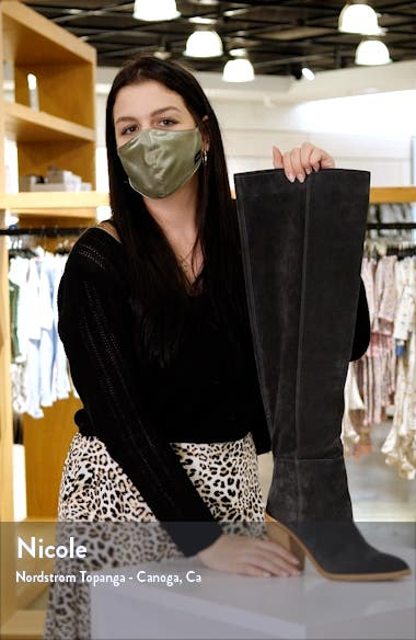 Heidi Over the Knee Boot, sales video thumbnail