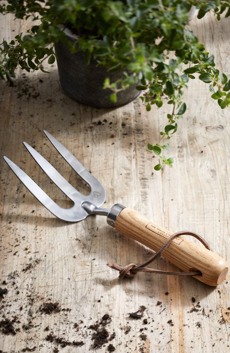 THE WHITE COMPANY Gardening Fork, Main, color, 020