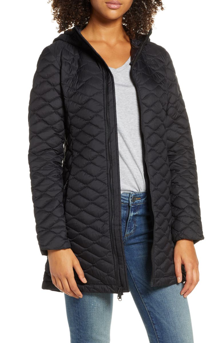 THE NORTH FACE ThermoBall<sup>™</sup> II Insulated Hooded Parka, Main, color, 001