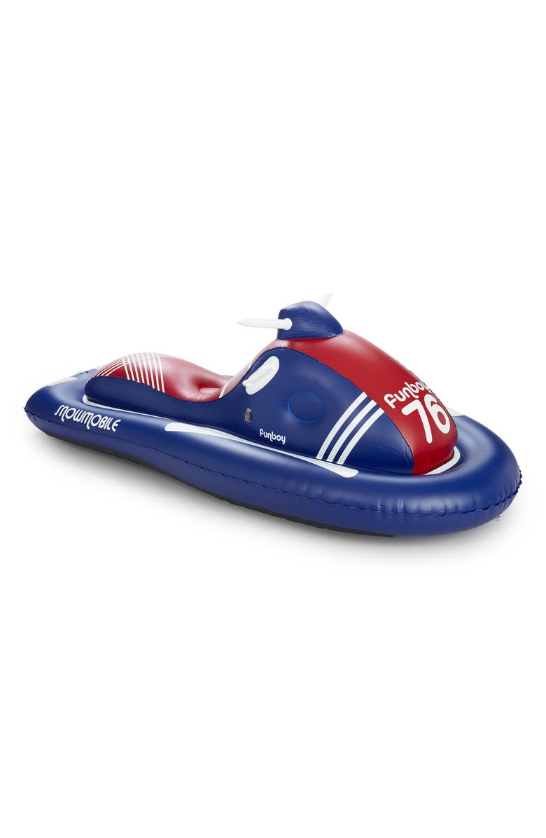 FUNBOY Inflatable Snowmobile Sled, Main, color, 600