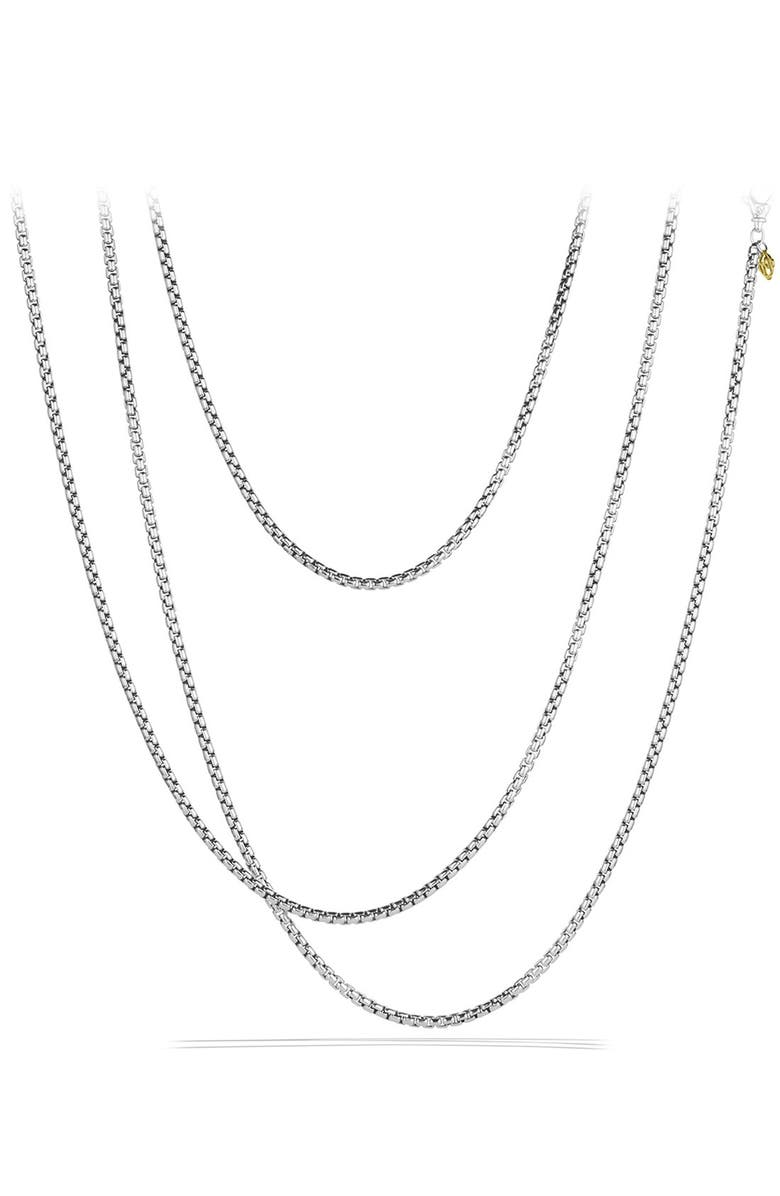 DAVID YURMAN Chain Medium Box Chain, Main, color, TWO TONE
