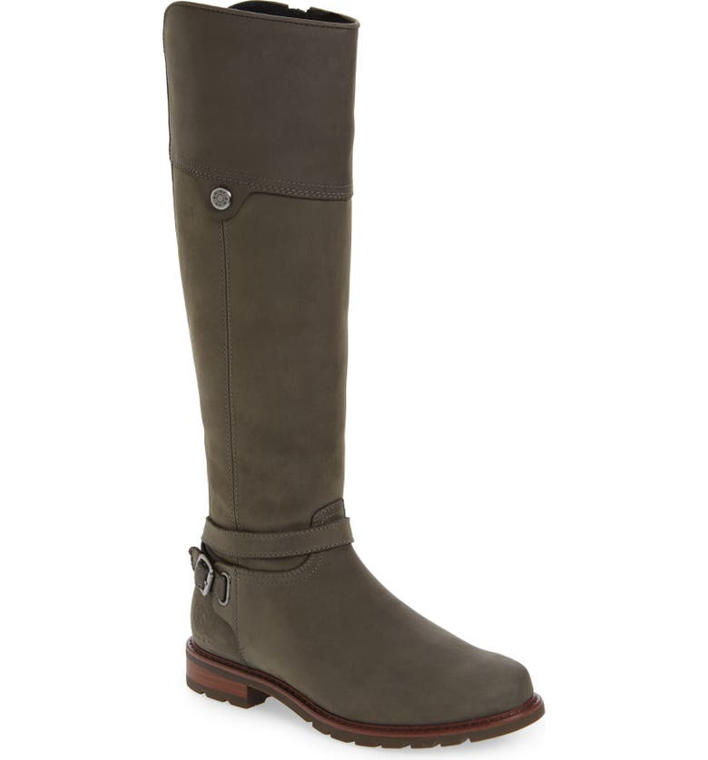 ARIAT Carden Waterproof Knee High Boot, Main, color, CHARCOAL
