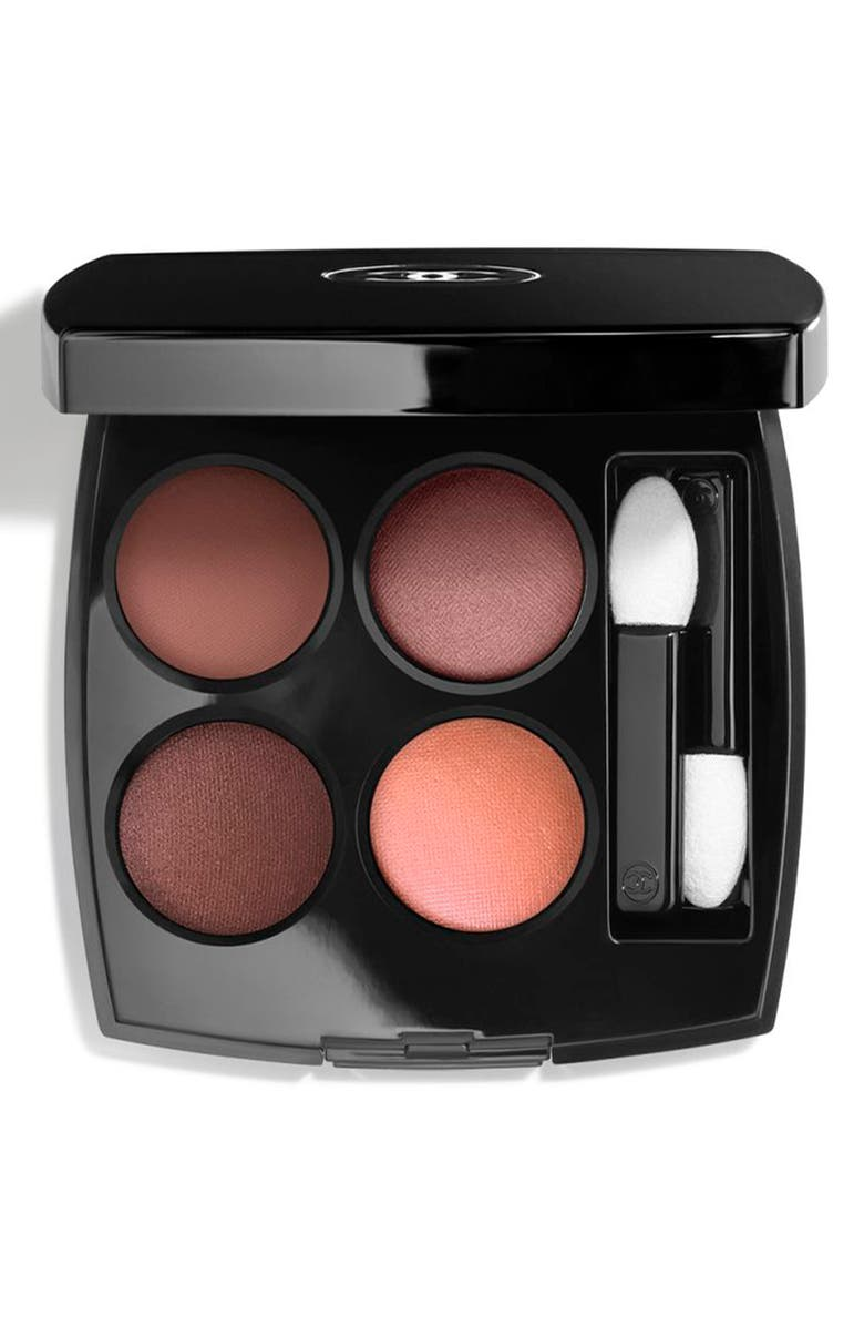 CHANEL LES 4 OMBRES <br />Multi-Effect Quadra Eyeshadow, Main, color, 354 WARM MEMORIES