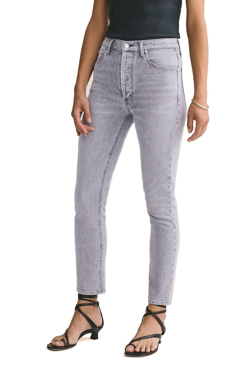 AGOLDE Nico High Waist Ankle Slim Fit Jeans, Main, color, 070