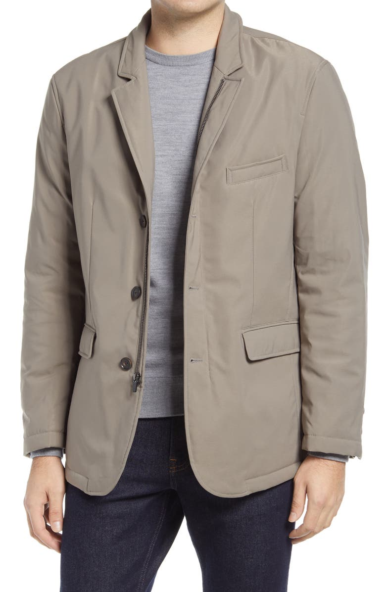 JOHNSTON & MURPHY XC4 Stretch Convertible Blazer, Main, color, TAUPE