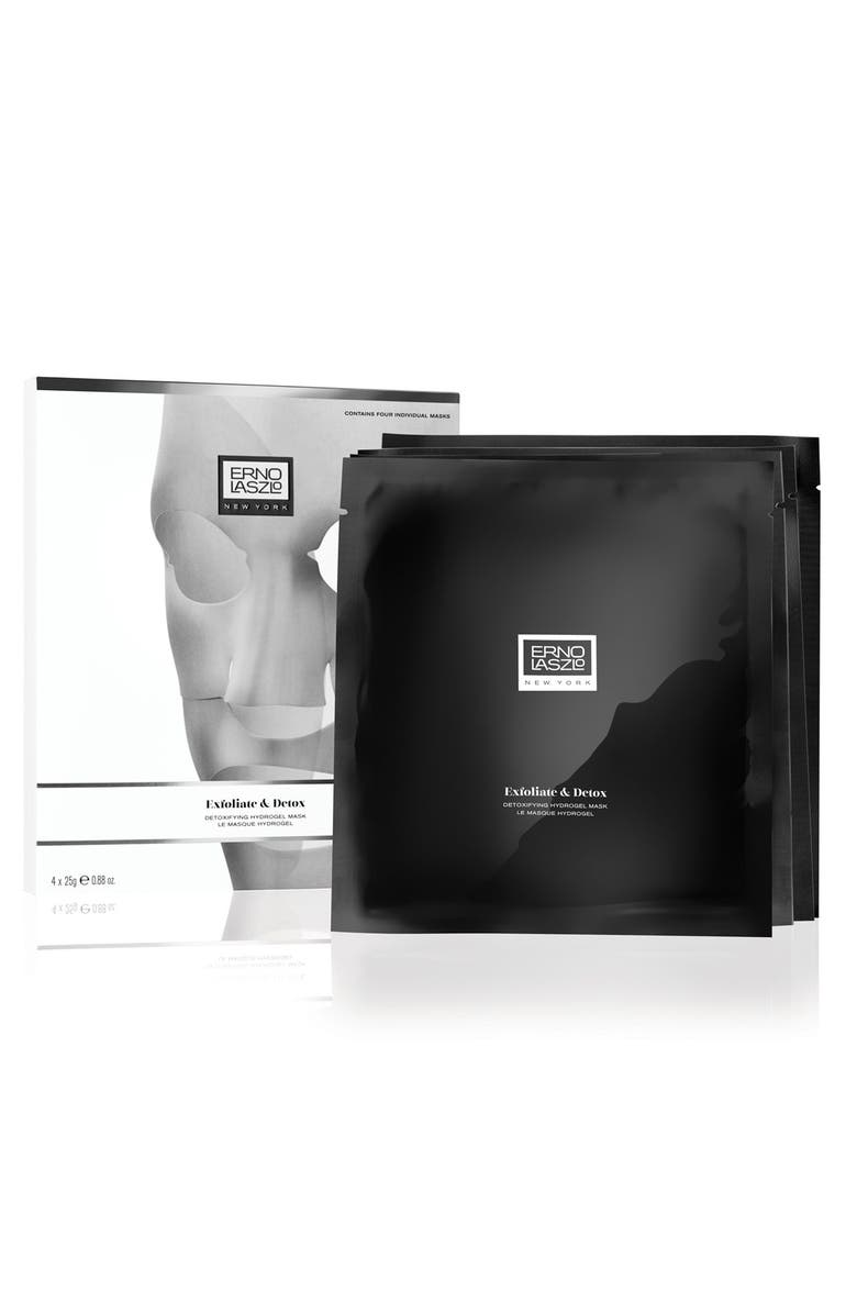 ERNO LASZLO Exfoliate & Detox Hydrogel Mask, Main, color, No Color