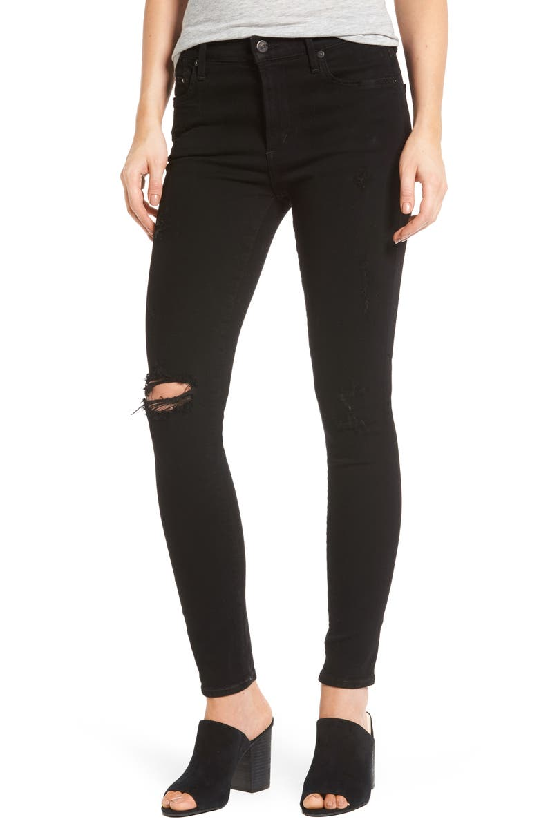 CITIZENS OF HUMANITY Rocket High Waist Skinny Jeans, Main, color, 009
