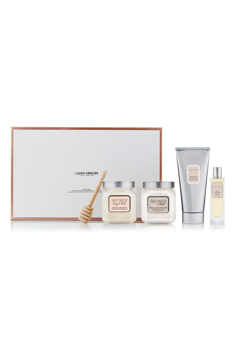 LAURA MERCIER Luxe Almond Coconut Milk Skin Care Set, Main, color, 000