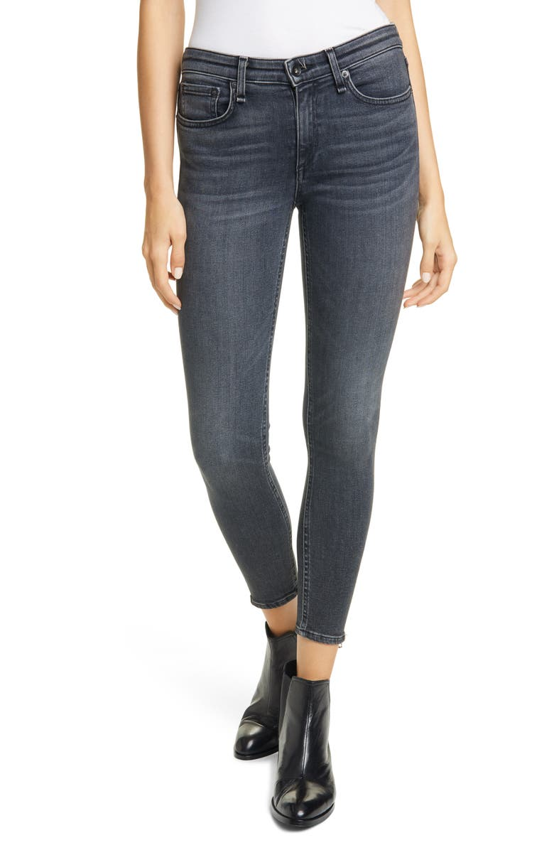 RAG & BONE Cate Ankle Skinny Jeans, Main, color, ABBEY ROAD