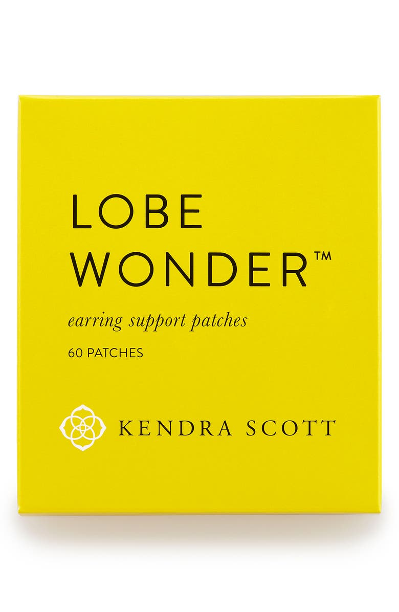 KENDRA SCOTT Lobe Wonder<sup>™</sup> Earring Support Patches, Main, color, LOBE WONDER- CLEAR
