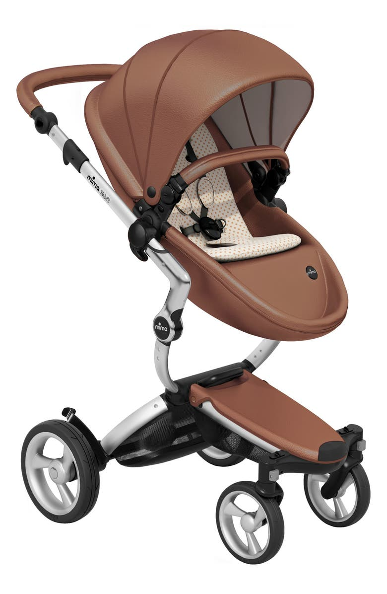 MIMA Xari Aluminum Chassis Stroller with Reversible Reclining Seat & Carrycot, Main, color, 206