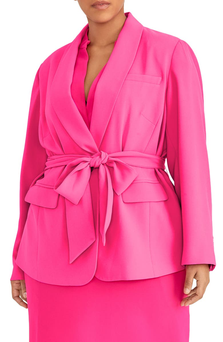 RACHEL ROY COLLECTION Wrap Blazer, Main, color, 654