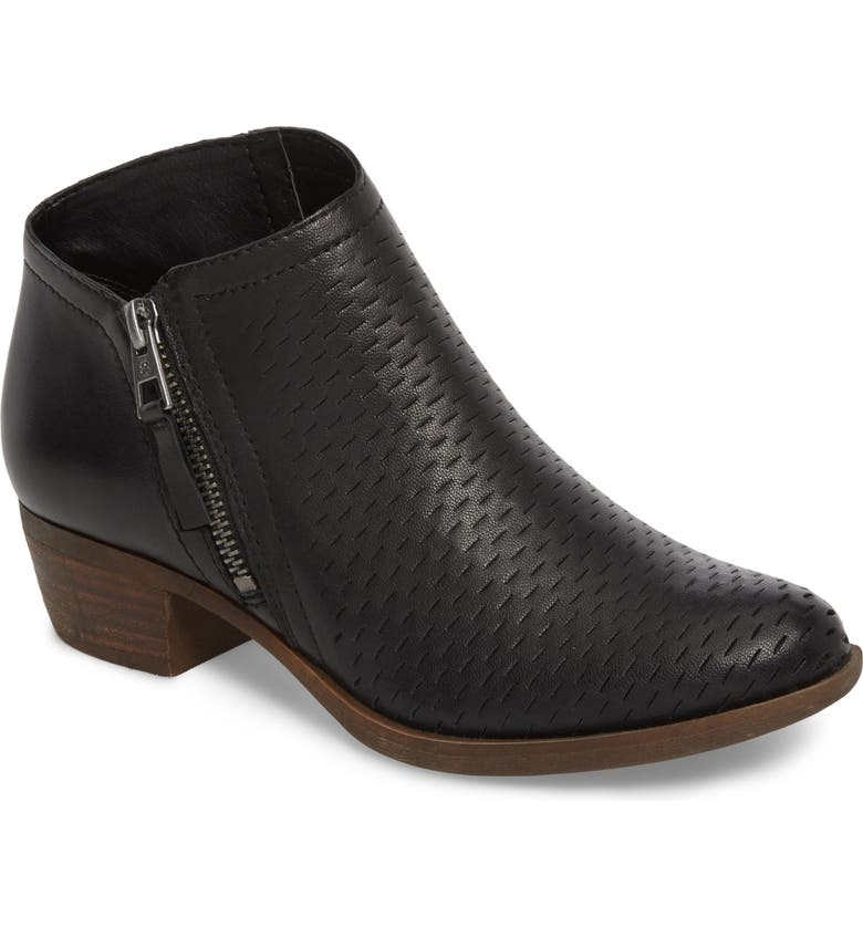 LUCKY BRAND Brielley Perforated Bootie, Main, color, 002