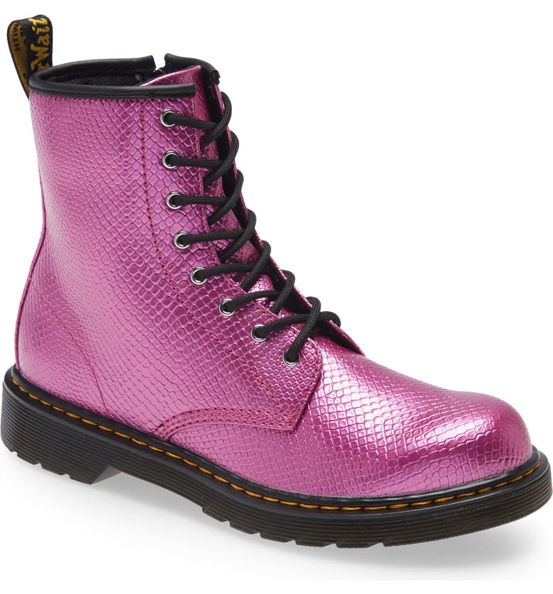 DR. MARTENS 1460 Boot, Main, color, Pink