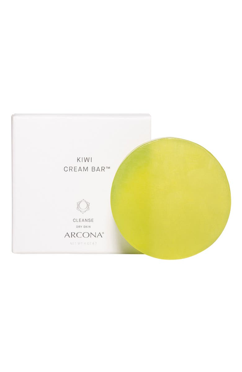 ARCONA Kiwi Cream Bar Facial Cleanser, Main, color, No Color