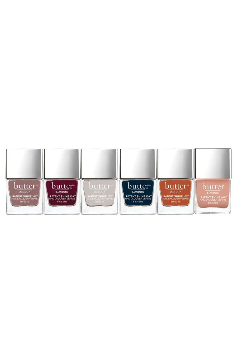 BUTTER LONDON EVENTfull Nail Lacquer Collection, Main, color, 600
