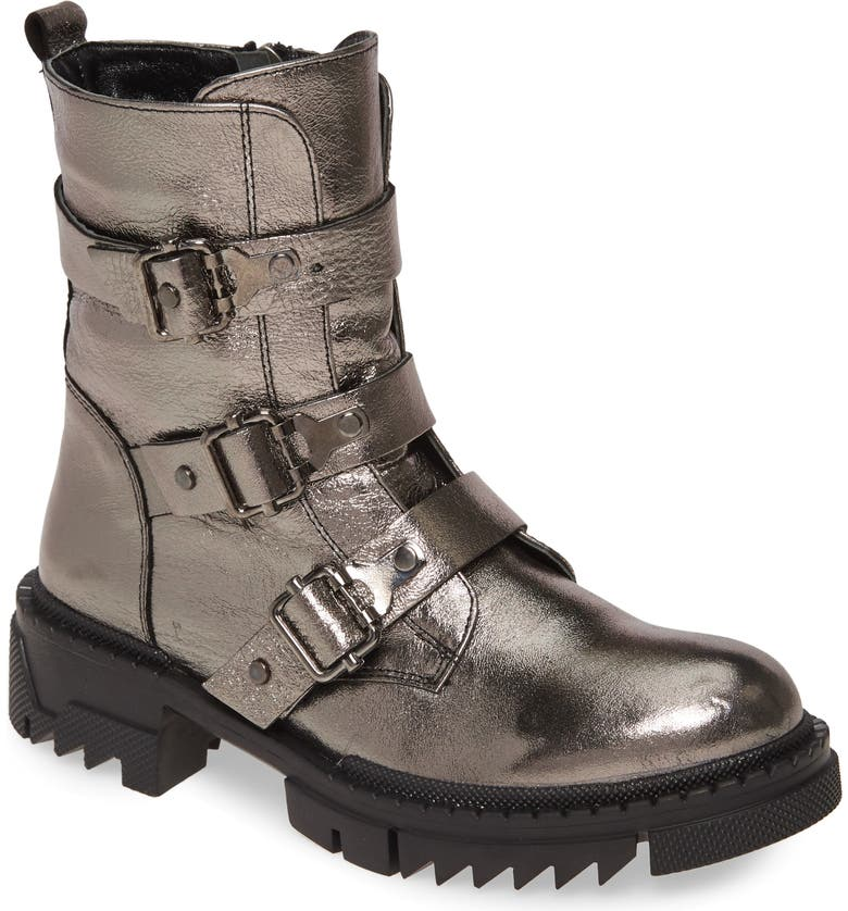 SHERIDAN MIA Train Bootie, Main, color, PEWTER LEATHER