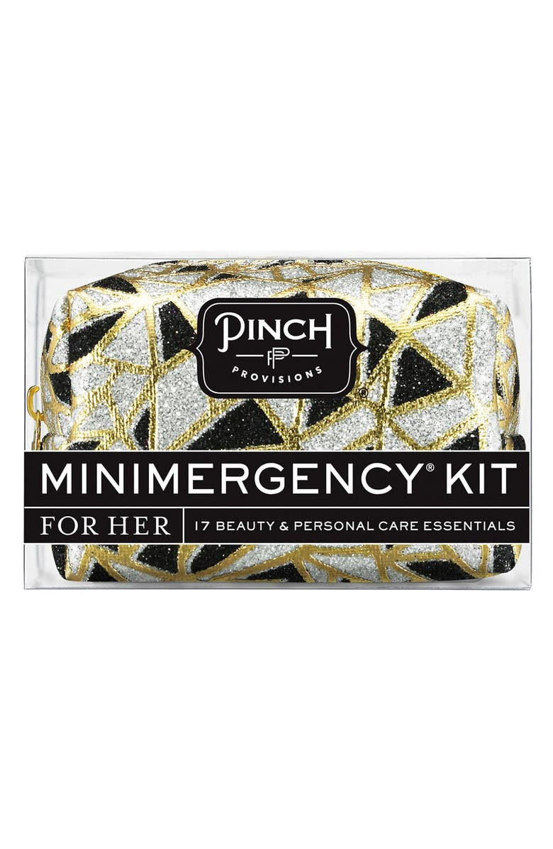PINCH PROVISIONS 'Icebreaker' Minimergency Kit, Main, color, GOLD/ SILVER