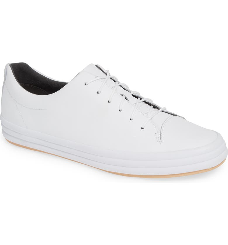 CAMPER Hoops Sneaker, Main, color, WHITE LEATHER