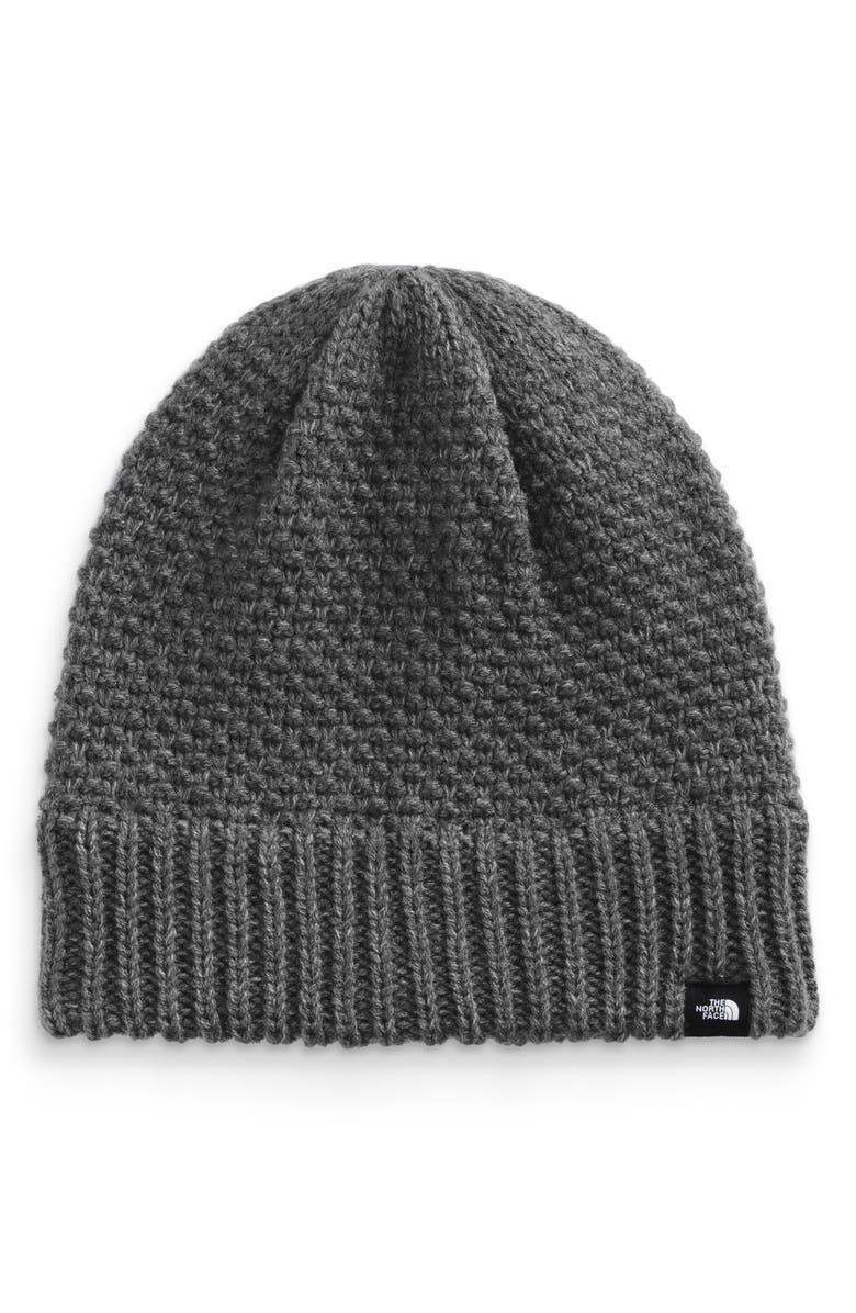 THE NORTH FACE The NorthFace 'Purrl'KnitBeanie, Main, color, GREY HEATHER