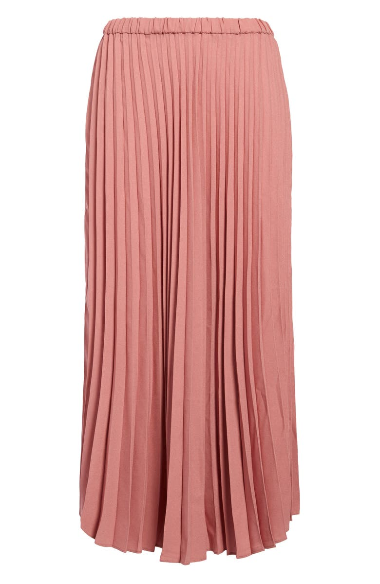 HALOGEN<SUP>®</SUP> Pleated Midi Skirt, Main, color, PINK COMPACT