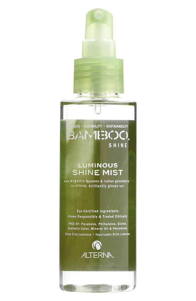 ALTERNA<SUP>®</SUP> Bamboo Shine Luminous Shine Mist, Main, color, 000