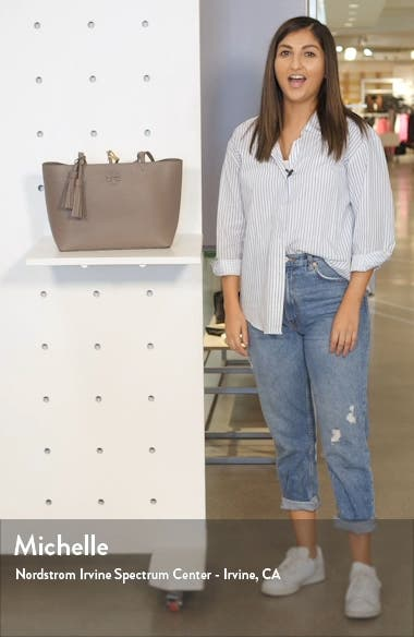 Small McGraw Leather Tote, sales video thumbnail