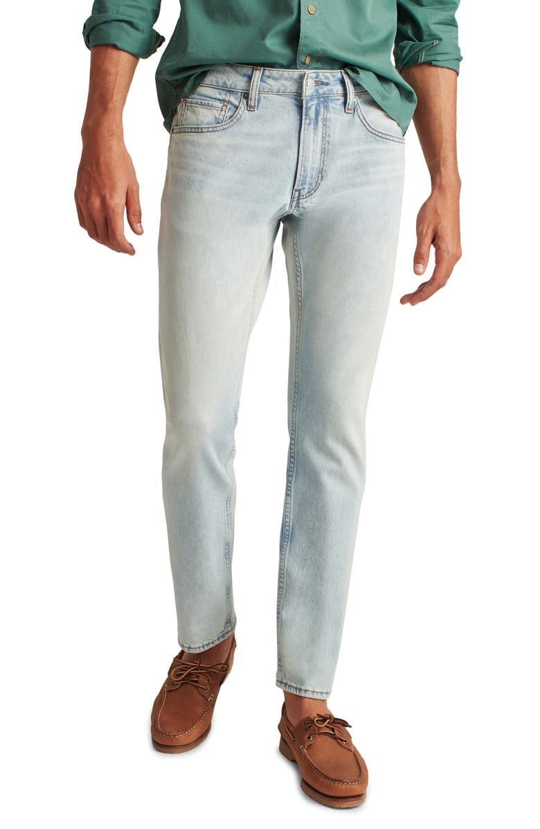 BONOBOS All Season Travel Slim Fit Stretch Jeans, Main, color, WASHED AWAY