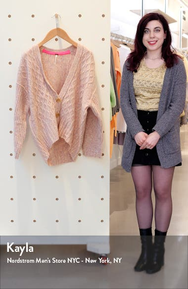 Molly Cable Cardigan, sales video thumbnail