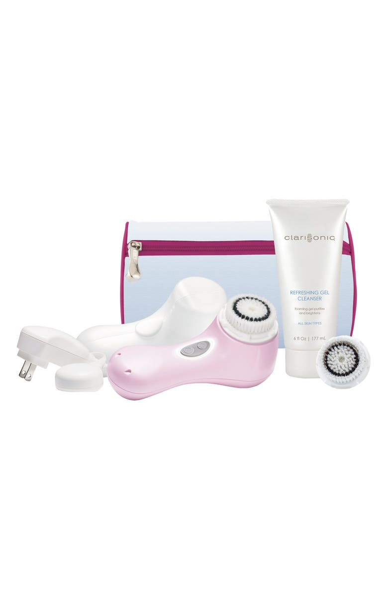 CLARISONIC <sup>®</sup> 'Mia 2 - Pink' Sonic Skin Cleansing System, Main, color, NO COLOR
