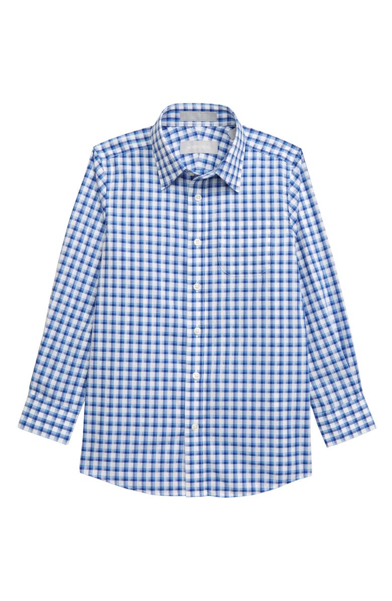 NORDSTROM Check Dress Shirt, Main, color, 450
